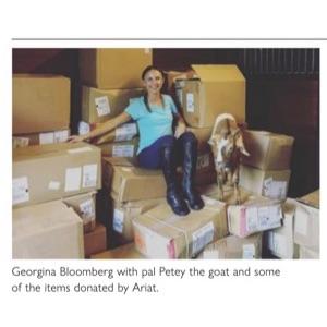 Georgina Bloomberg – Equestrian Living – NovDec 2020-1